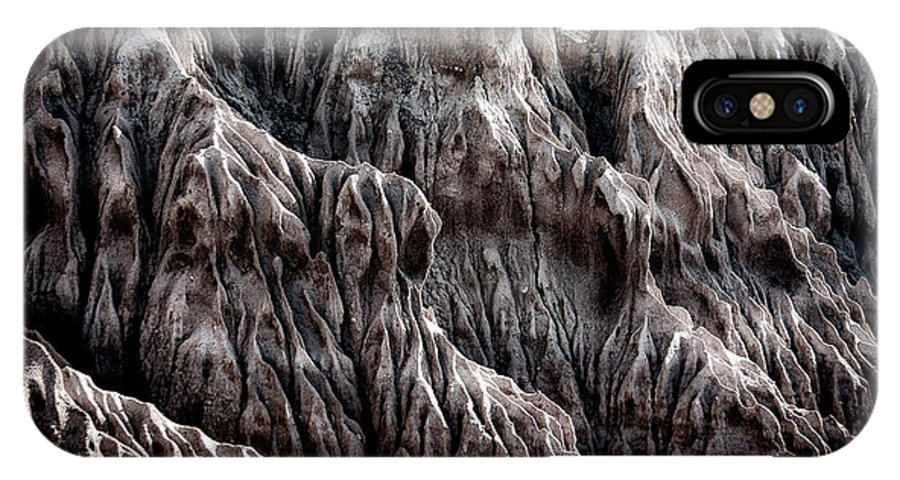 IPhone X Case featuring the photograph Rugged Shoreline by Paul Bartell