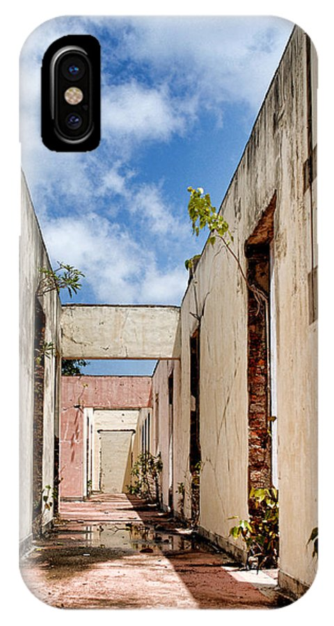 Ruins IPhone X Case featuring the photograph Ruins by Sanjeewa Marasinghe