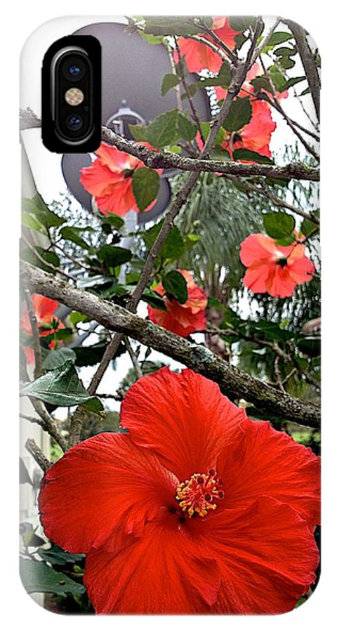 Blooms IPhone X / XS Case featuring the photograph Running by Joseph Yarbrough