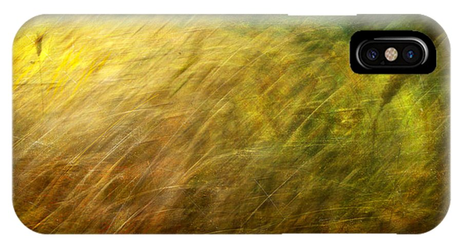 Digital IPhone X Case featuring the photograph Ruralscape #8. Field And Wind by Alfredo Gonzalez