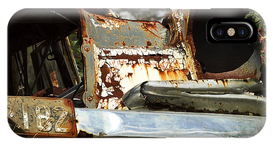 Mercedes Photographs IPhone X Case featuring the photograph Rusty by Billie-Maree Ward