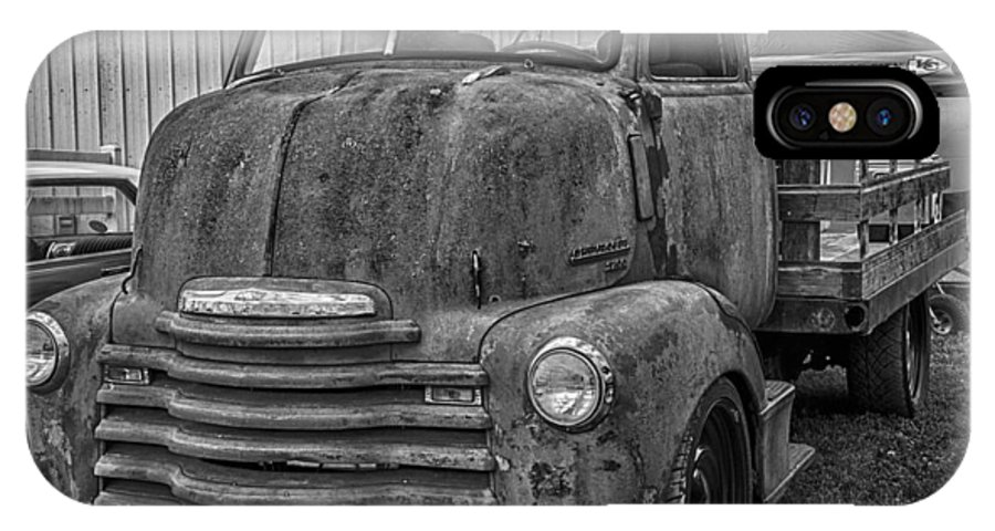 Hot Rod IPhone X Case featuring the photograph Rusty by Ken Kobe