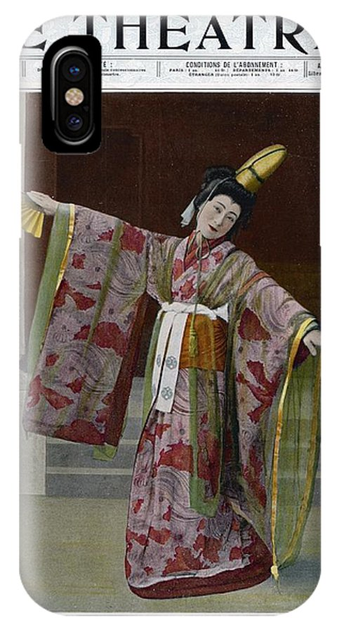 Sada IPhone X Case featuring the photograph Sada Yacco Japanese Actress Who Toured by Mary Evans Picture Library