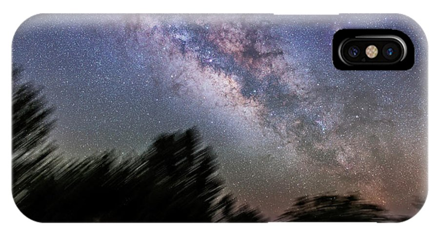 Arizona IPhone X Case featuring the photograph Sagittarius And Scorpius From Arizona by Alan Dyer