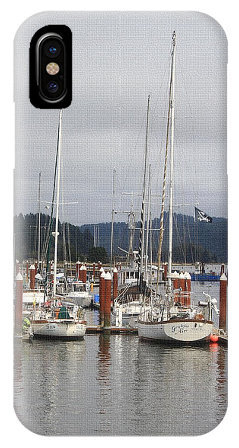 Sail Boats Waiting For Their Captains IPhone X Case featuring the photograph Sail Boats Waiting For Their Captains by Tom Janca