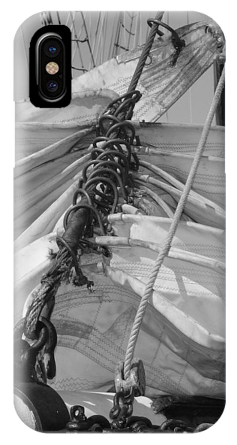Sail IPhone X / XS Case featuring the photograph Sail by Jill Kelley