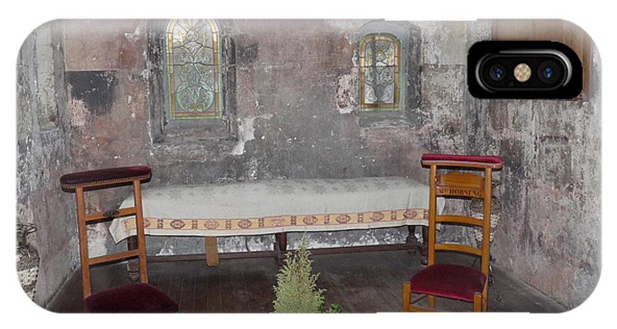 Chartres IPhone X Case featuring the photograph Saint Aignan Chapel by Deborah Smolinske
