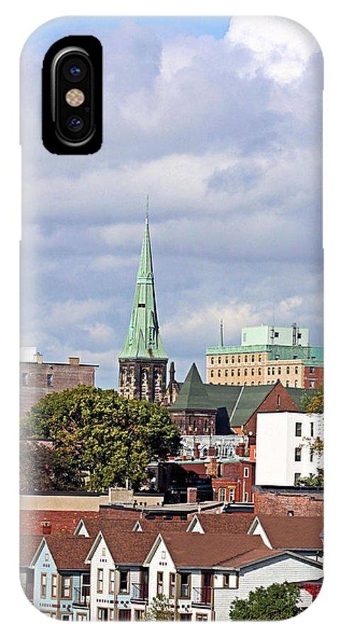 Saint John IPhone X Case featuring the photograph Saint John New Brunswick by Kristin Elmquist