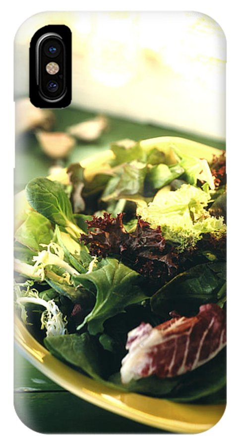 Salad IPhone X Case featuring the photograph Salad by Felixco