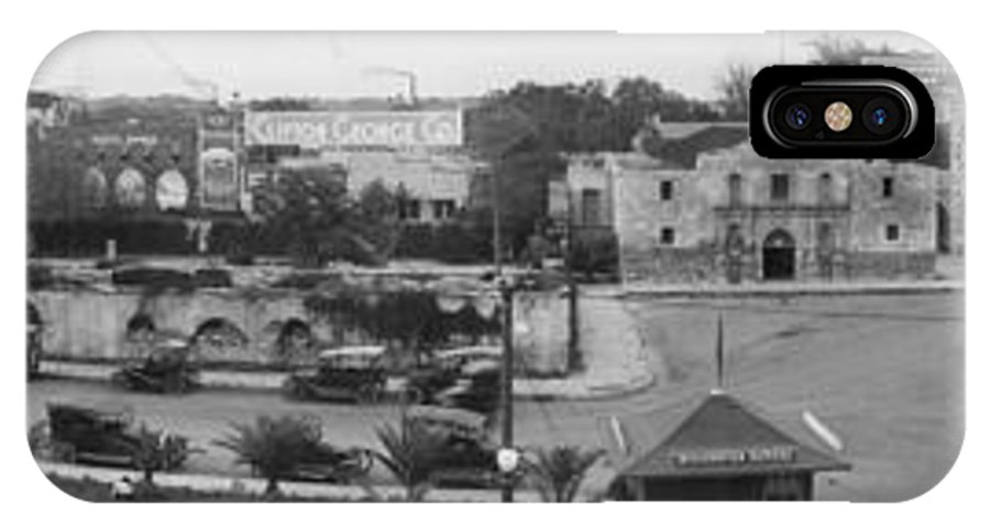 San Antonio IPhone X / XS Case featuring the photograph San Antonio 1918 by Unknown