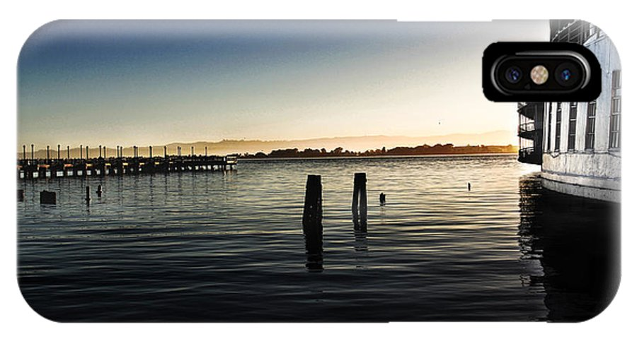 San Francisco IPhone X Case featuring the photograph San Francisco Bay by Shawn McMillan