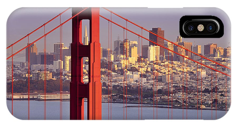 Golden Gate IPhone X Case featuring the photograph San Francisco by Brian Jannsen