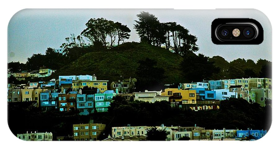 San Francisco IPhone X Case featuring the photograph San Francisco Neighborhood by Eric Tressler