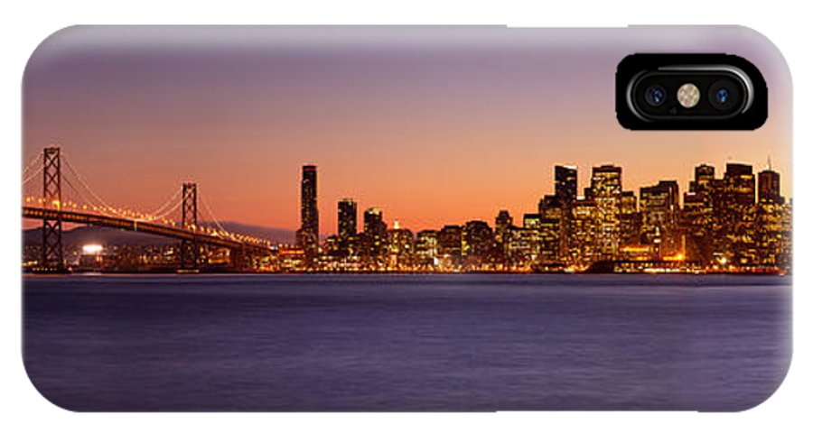 San Francisco IPhone X Case featuring the photograph San Francisco Skyline by Brian Jannsen