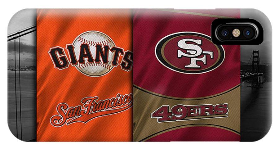 Giants IPhone X Case featuring the photograph San Francisco Sports Teams by Joe Hamilton