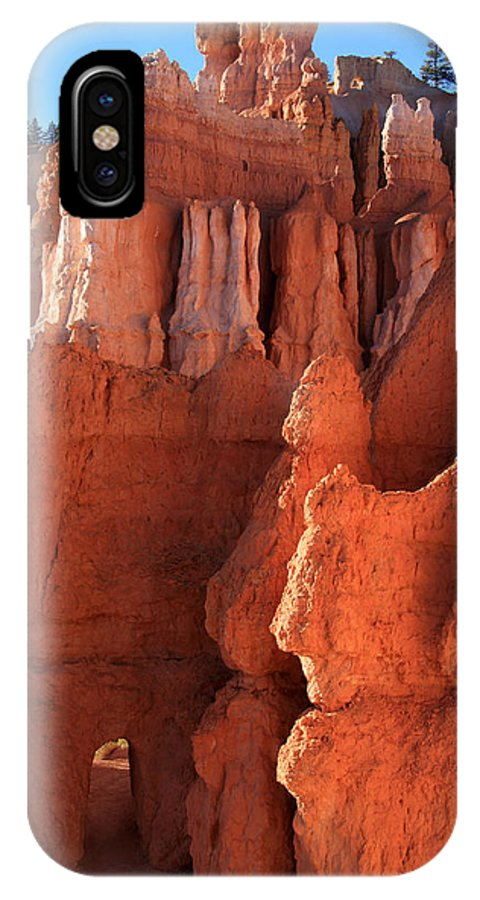 Utah IPhone X Case featuring the photograph Bryce Canyon Gateway  by Aidan Moran