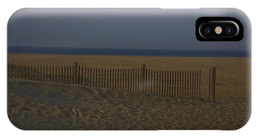 Sandy Hook IPhone X Case featuring the photograph Sandy Hook At Dusk by Conor McLaughlin