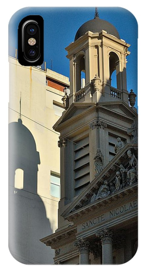 Buenos Aires IPhone X Case featuring the photograph Sante Nicolae by Steven Richman