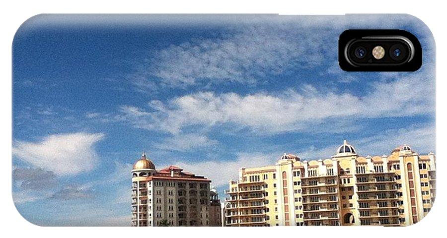 Sarasota IPhone X Case featuring the photograph Sarasota by Amy Upholz