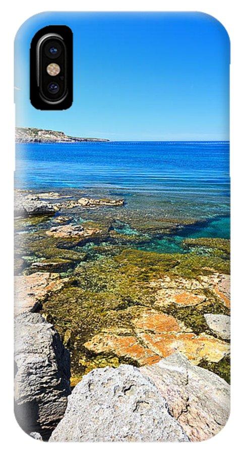 Sardinia IPhone X Case featuring the photograph Sardinia - San Pietro Island by Antonio Scarpi
