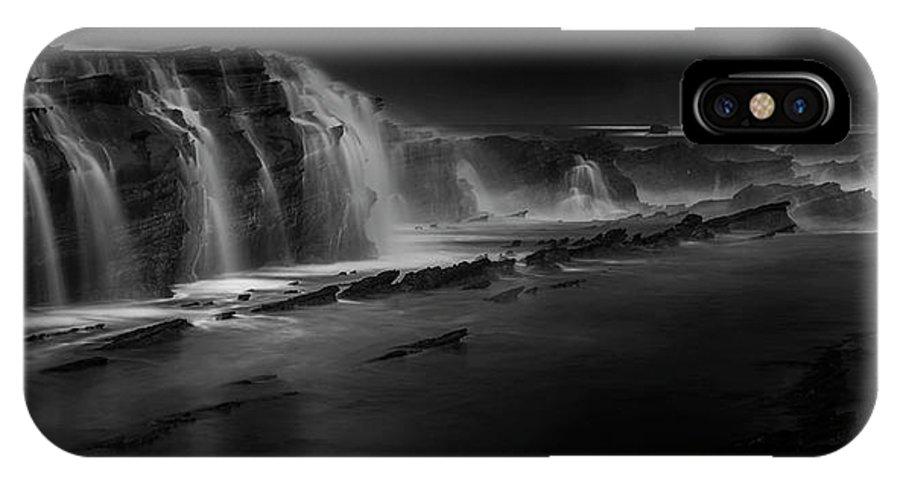 Landscape IPhone X Case featuring the photograph Sawarna Beach by Helmi Rahmat S