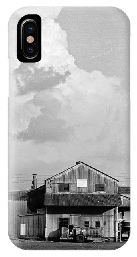 Silo IPhone X Case featuring the photograph Scott IIi by Ken Gehring