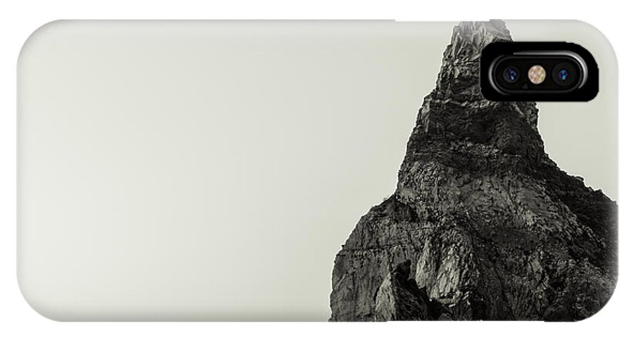 Bears Beach IPhone X Case featuring the photograph Sea Stack by Marco Oliveira