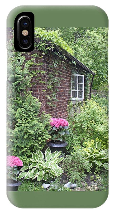 Hidden Cottage IPhone X Case featuring the photograph Secret Place by Ben and Raisa Gertsberg