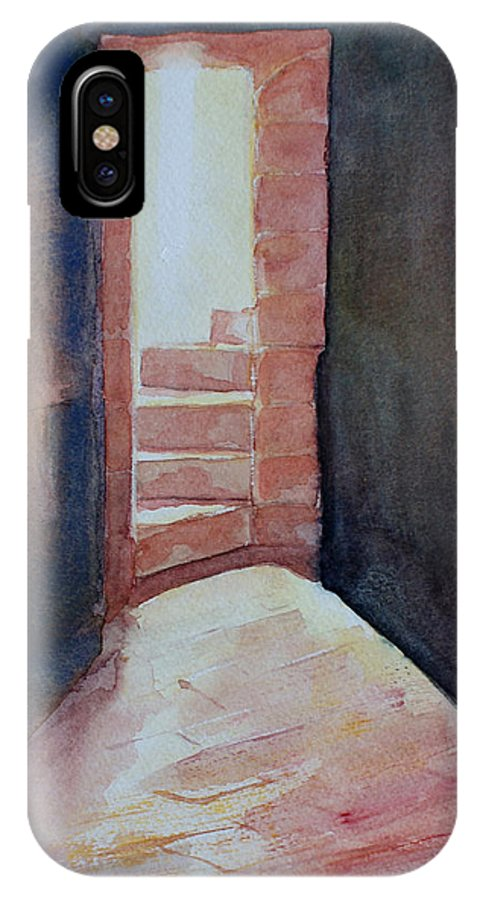 Light IPhone Case featuring the painting Secrets by Janice Gell