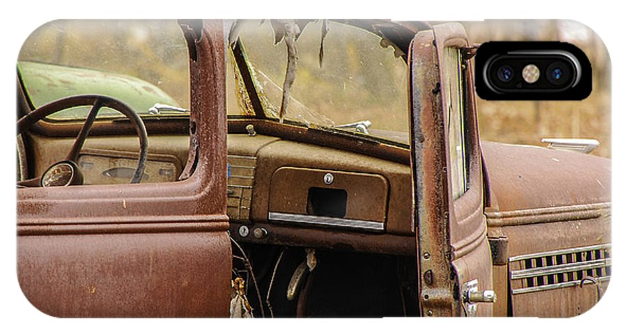 Still Life IPhone X Case featuring the photograph Seen Better Days by Mary Carol Story