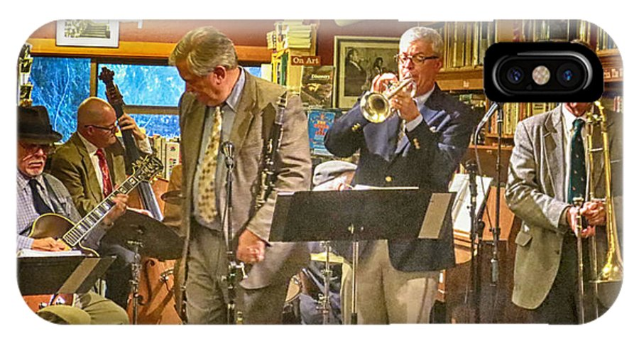 Buena Vista Jazz Band IPhone X Case featuring the photograph Septet by Jessica Levant