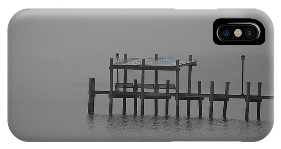 Pier IPhone X Case featuring the photograph Serenity Pier - 2 by Victoria Feazell