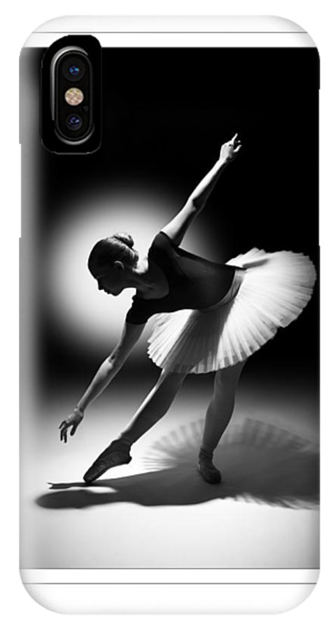 Ballet IPhone X Case featuring the photograph Shadow Play by Wayne Tarr