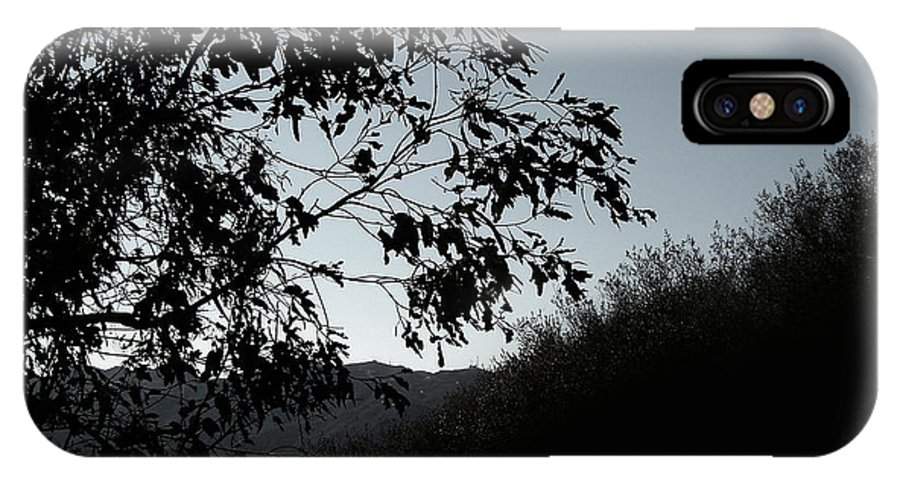 Nature IPhone X Case featuring the photograph Shadowlands 2 by Peter Awax