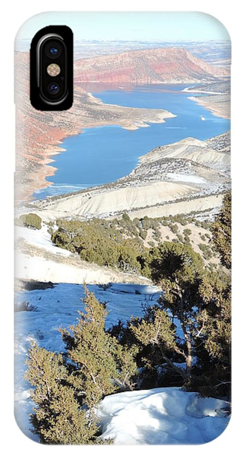 Flaming Gorge IPhone X Case featuring the photograph Sheep Creek by Lisa Marsing