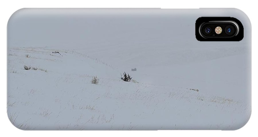 Shelter IPhone X Case featuring the photograph Shelter From The Storm by Mark Eisenbeil