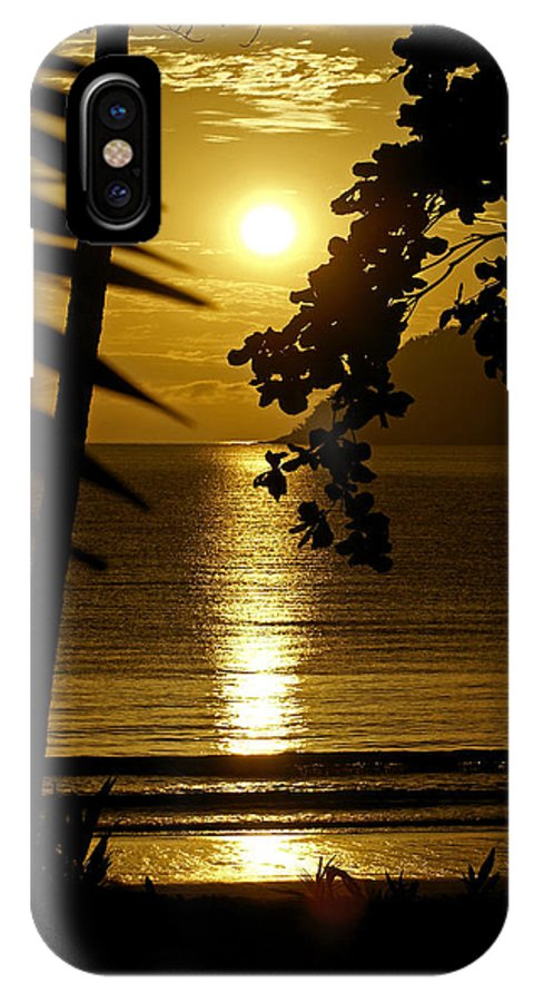 Landscapes IPhone X Case featuring the photograph Shimmer by Holly Kempe