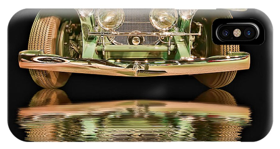 Transportation IPhone X Case featuring the photograph Shimmering by Maria Coulson