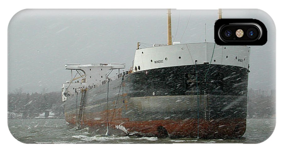 Ship IPhone X Case featuring the photograph Ship Aground 2 by Kathi Shotwell