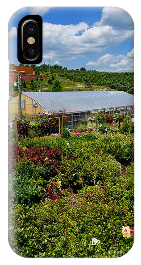 Allegheny County IPhone X Case featuring the photograph Shrubbery At A Greenhouse by Amy Cicconi