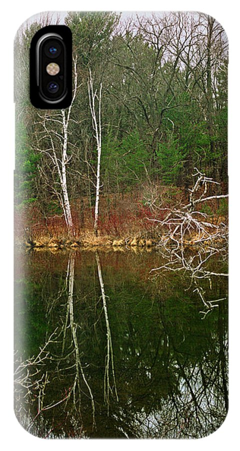 Silver Creek IPhone X Case featuring the photograph Silver Creek by James Rasmusson