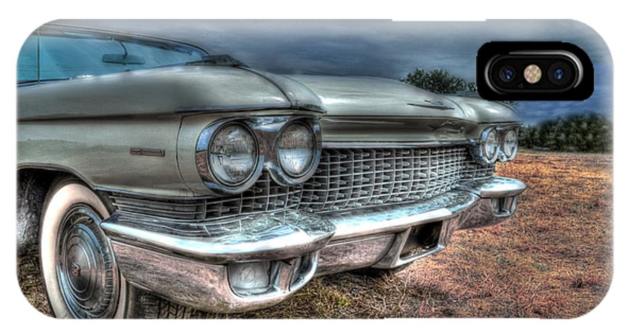 Cadillac IPhone X Case featuring the photograph Silver Lining by Hilton Barlow