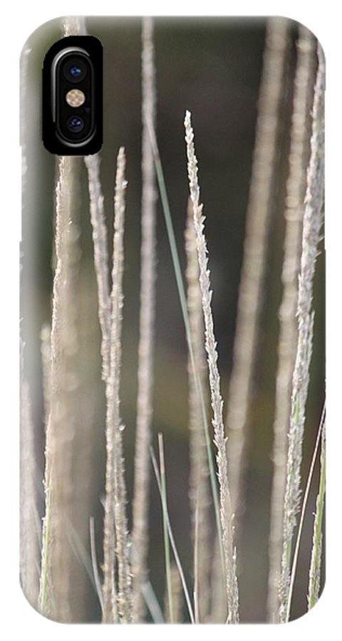 Tall Grass IPhone X Case featuring the photograph Simply Pure by Amy Gallagher
