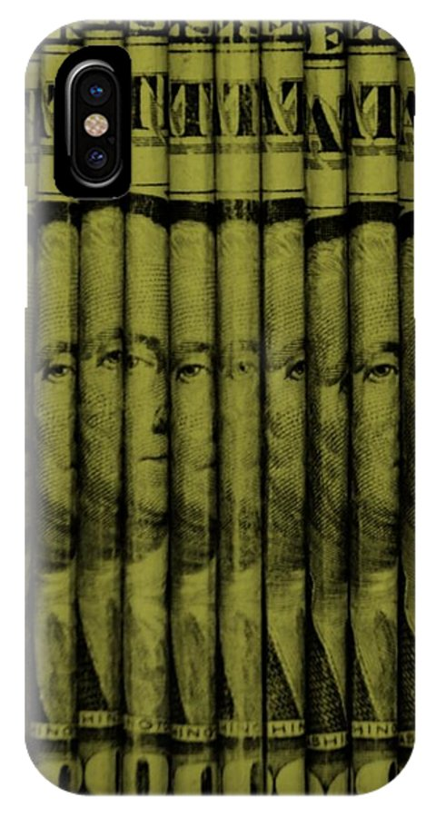 Money IPhone X Case featuring the photograph Singles In Light Yellow by Rob Hans