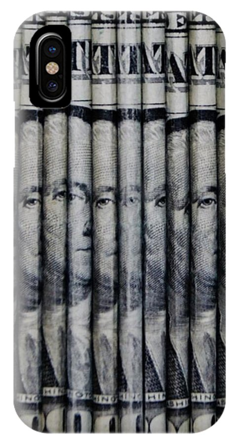 Money IPhone X Case featuring the photograph Singles by Rob Hans