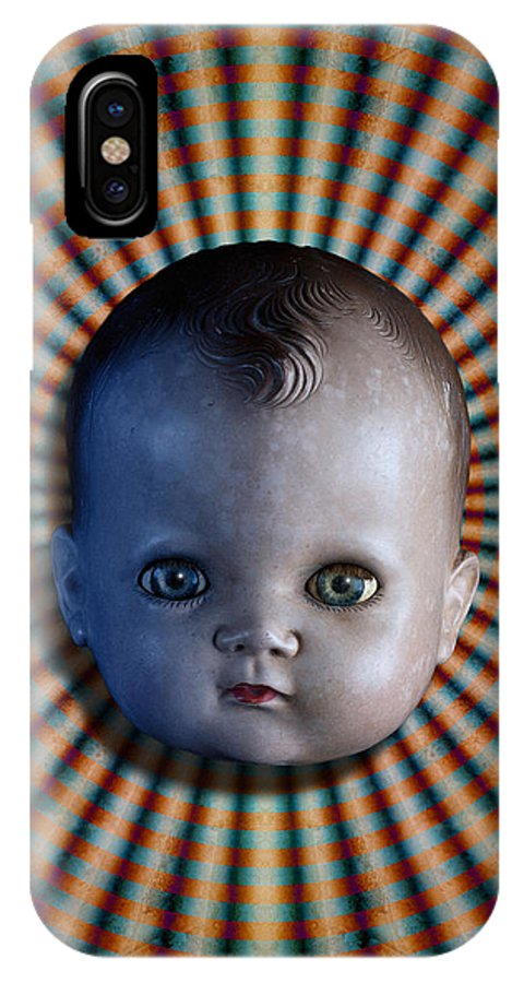 Doll IPhone X Case featuring the photograph Sirkus by WB Johnston