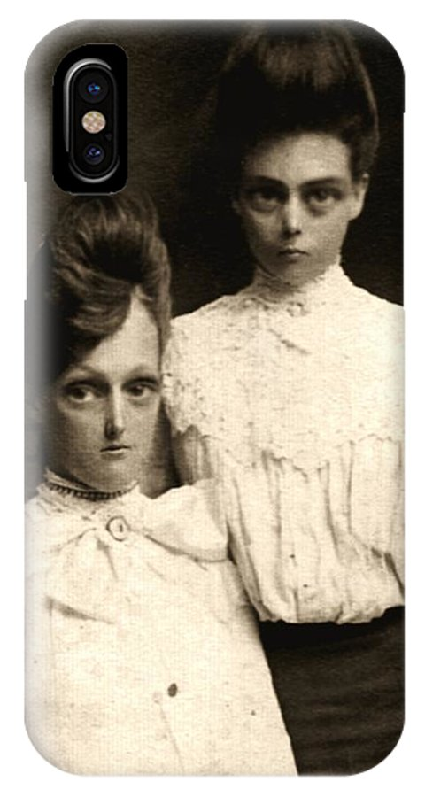 Photograph IPhone X / XS Case featuring the photograph Sisters by Kris Milo