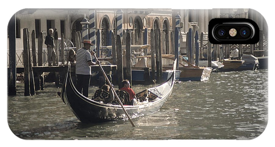 Venice IPhone X Case featuring the photograph Site Seers by Christopher Rees