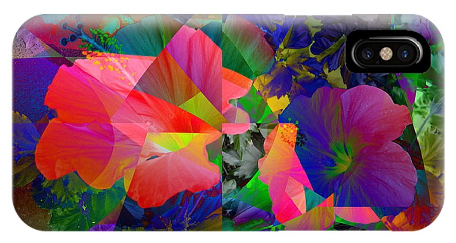 Nature IPhone X Case featuring the digital art Skeptical by Ed Caravana