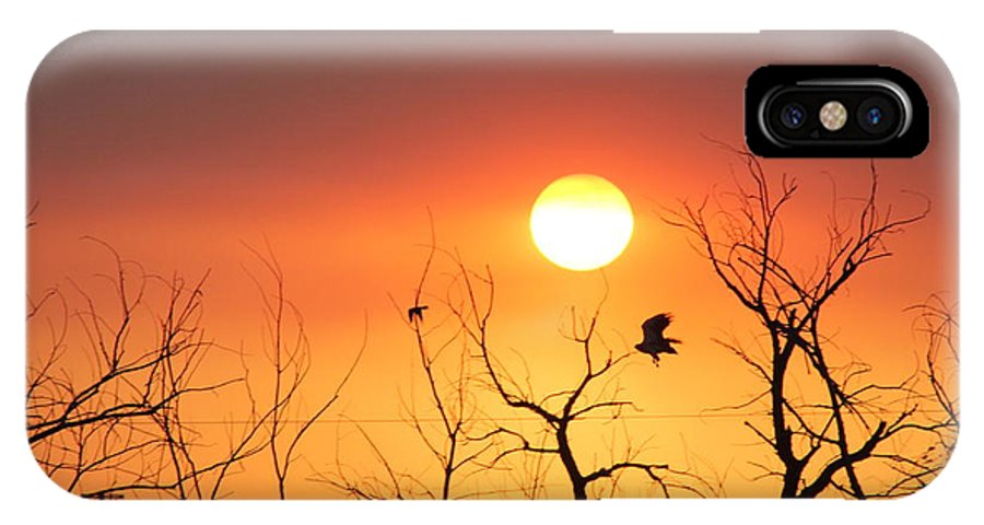 Colorado IPhone X / XS Case featuring the photograph Sky Of Fire by Chance Chenoweth